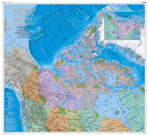 NRCan Canadian North Map