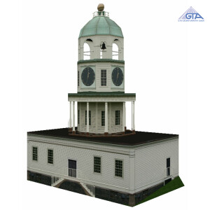 Old Town Clock, downtown Halifax nova Scotia
