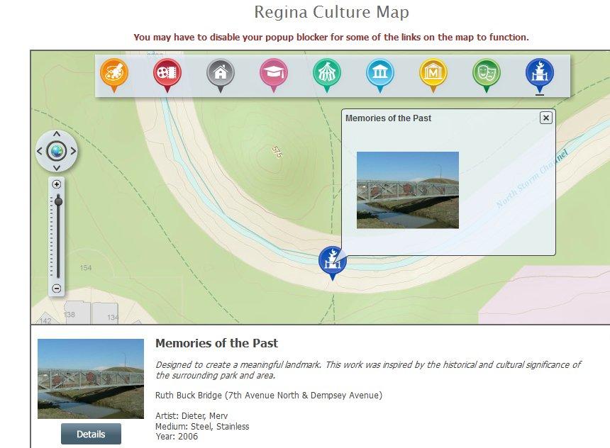 Regina Online Culture Map