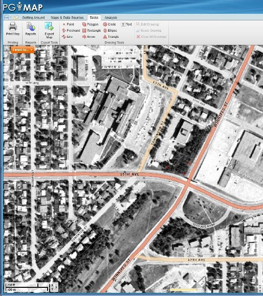 Aerial Photo - The City of Prince George PGMap online Application