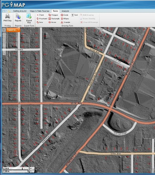 LIDAR - The City of Prince George PGMap online Application