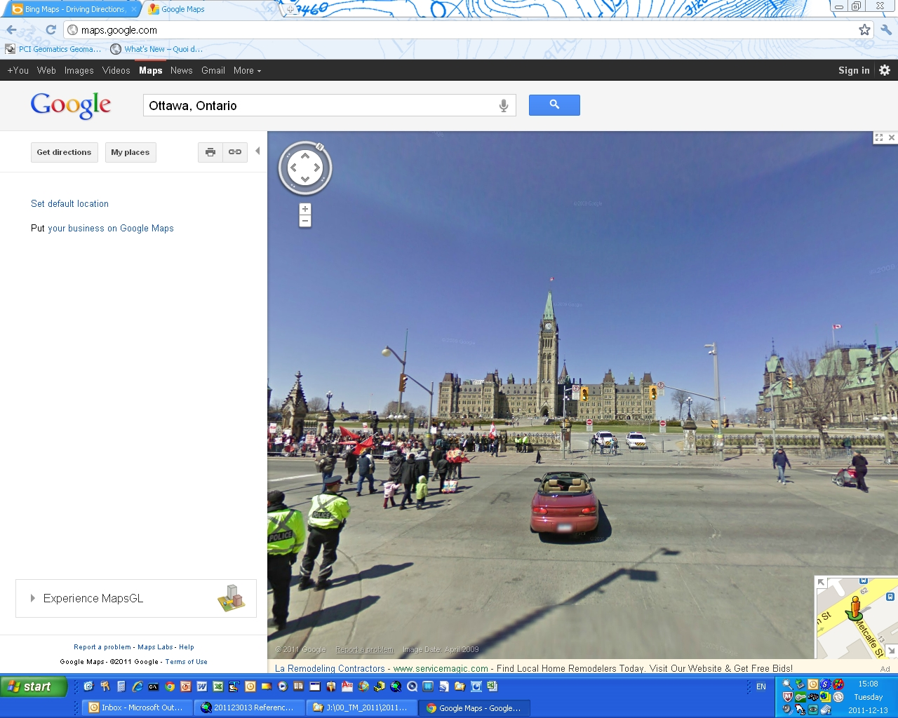 Google Maps Driving Directions Ontario on