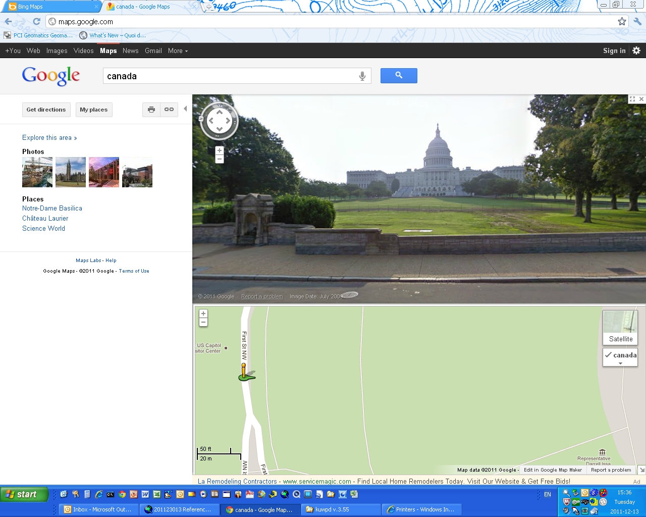 Washington Google Street View 1