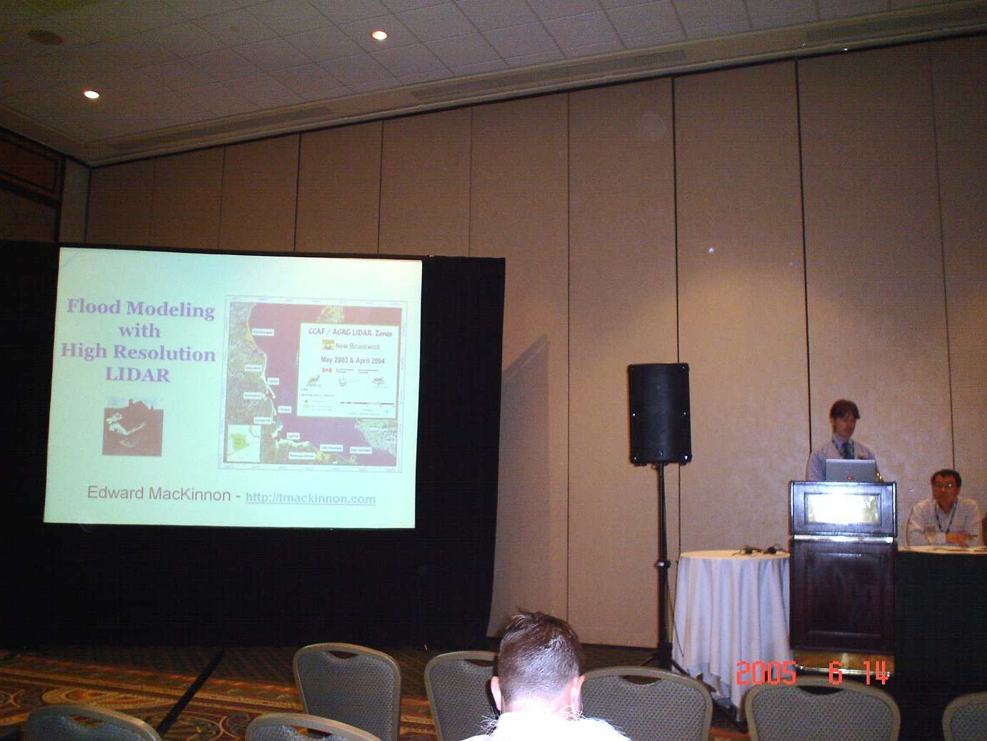 GIS conferences or geomatics related events - 2005 CIG Conference in Ottawa