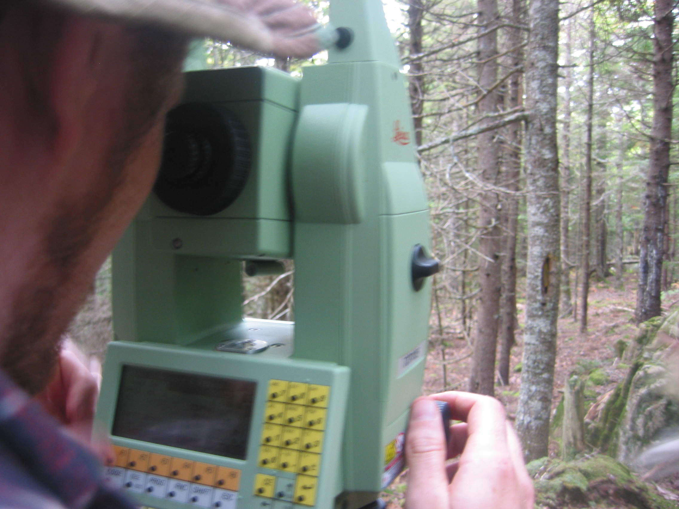 Centre of Geographic Sciences (COGS) - using Total Station