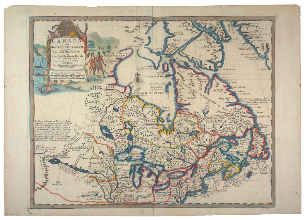 Map Of Canada History.History Of Canada In 10 Maps Canadian Gis Geomatics