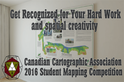 Canadian Cartographic Association Student Mapping Competition