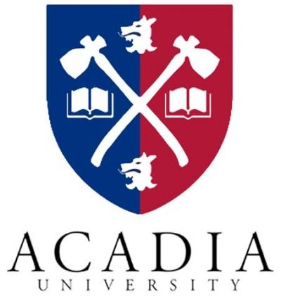 Acadia University Aerial View