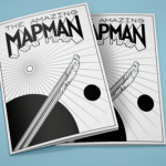 The Amazing MapMan coloring book
