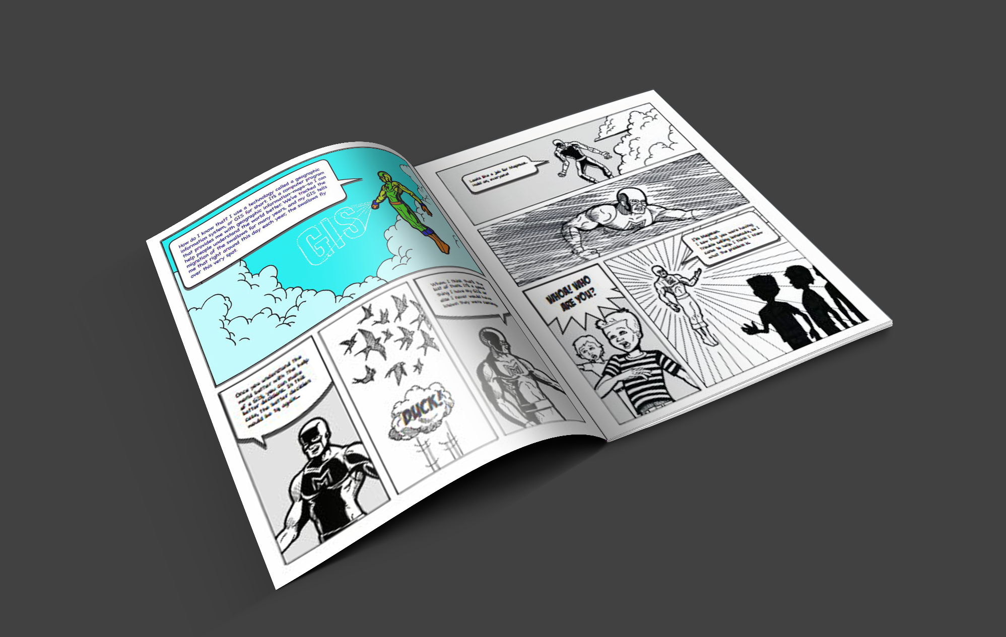 The Amazing Map Man coloring book