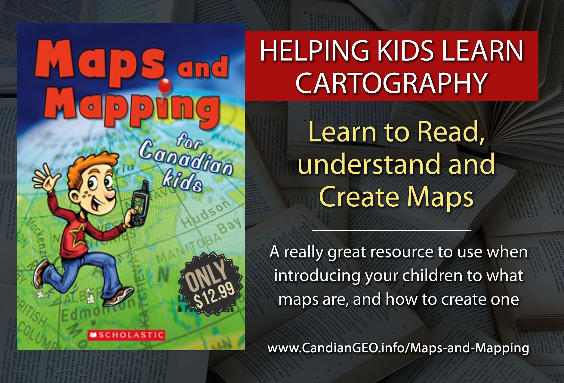 Maps and Mapping for Canadian Kids
