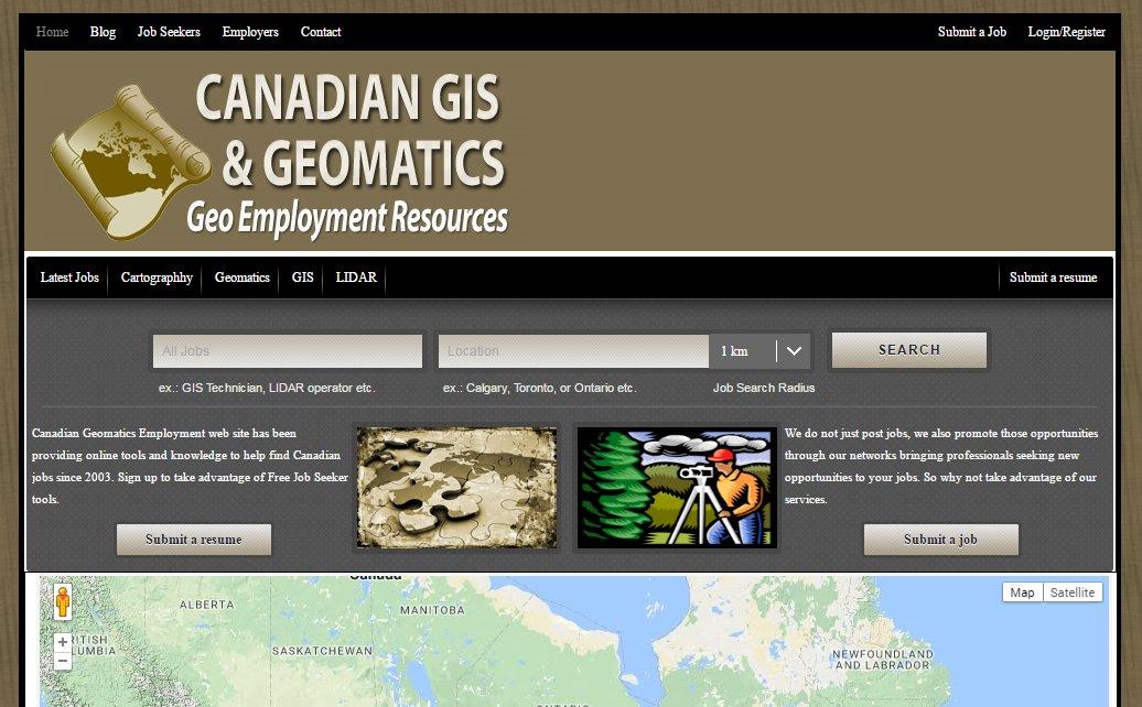 GISjobs.ca - 2012 site