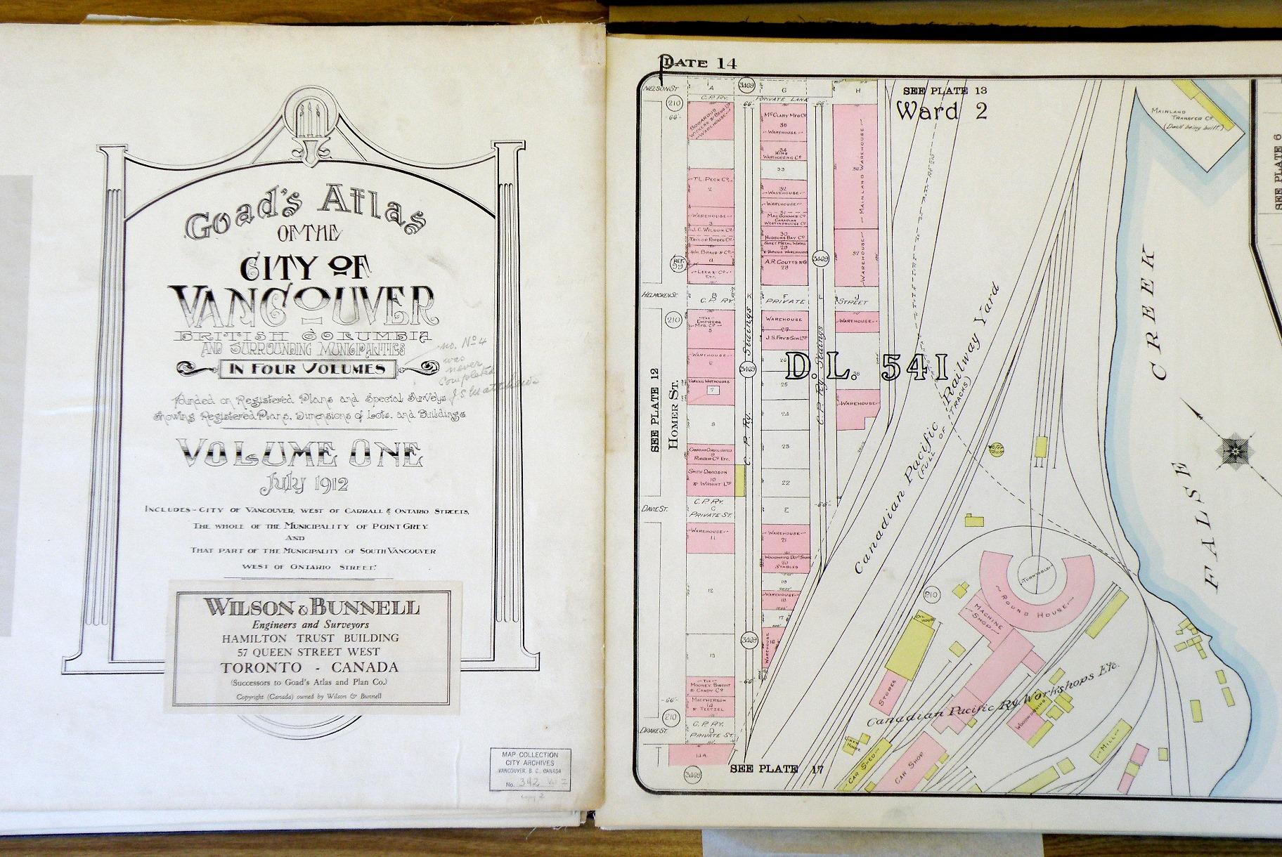 1912 Goad's Atlas