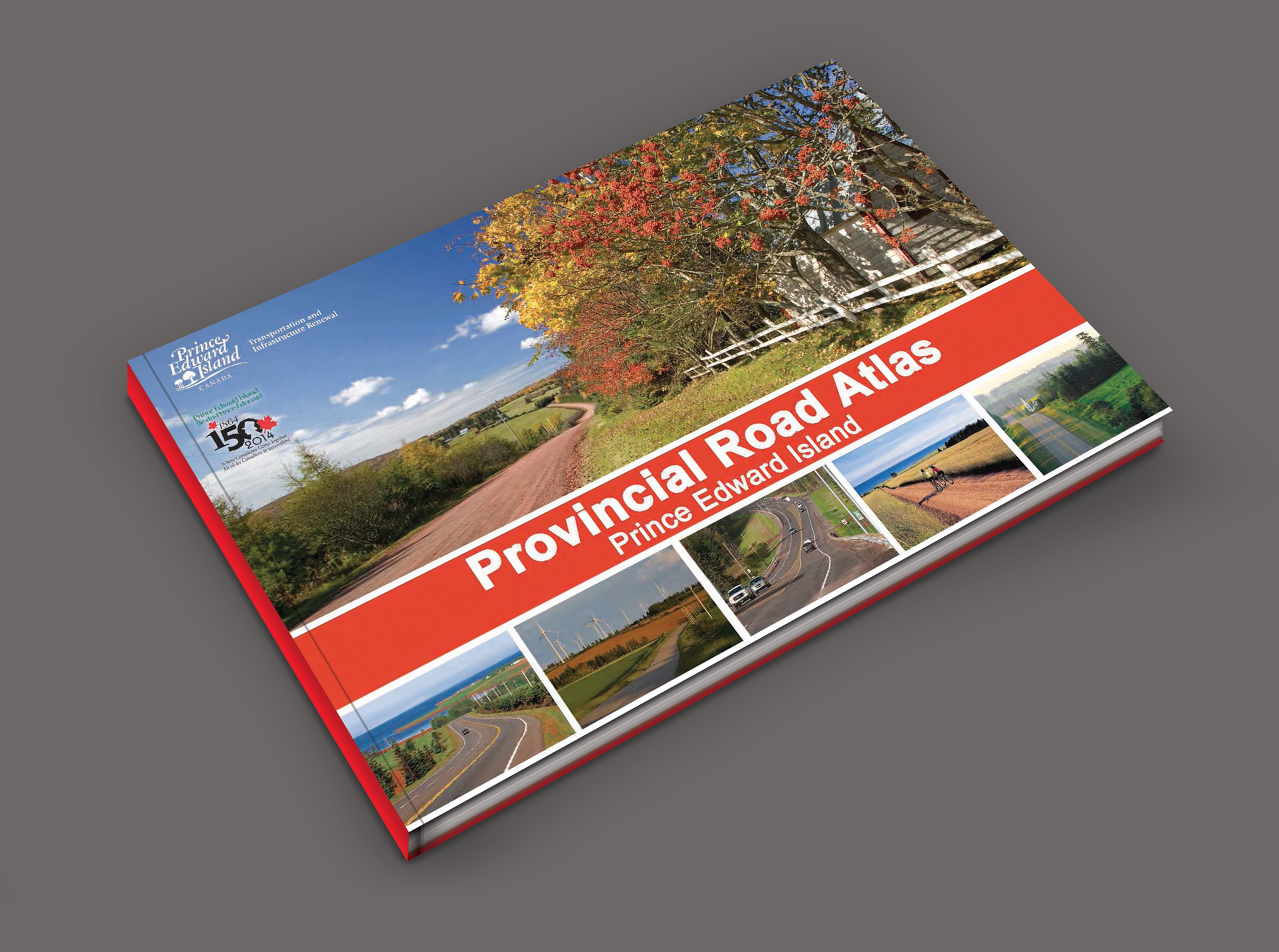 Find free Prince Edward Island maps in the 100 page Prince Edward Island Atlas