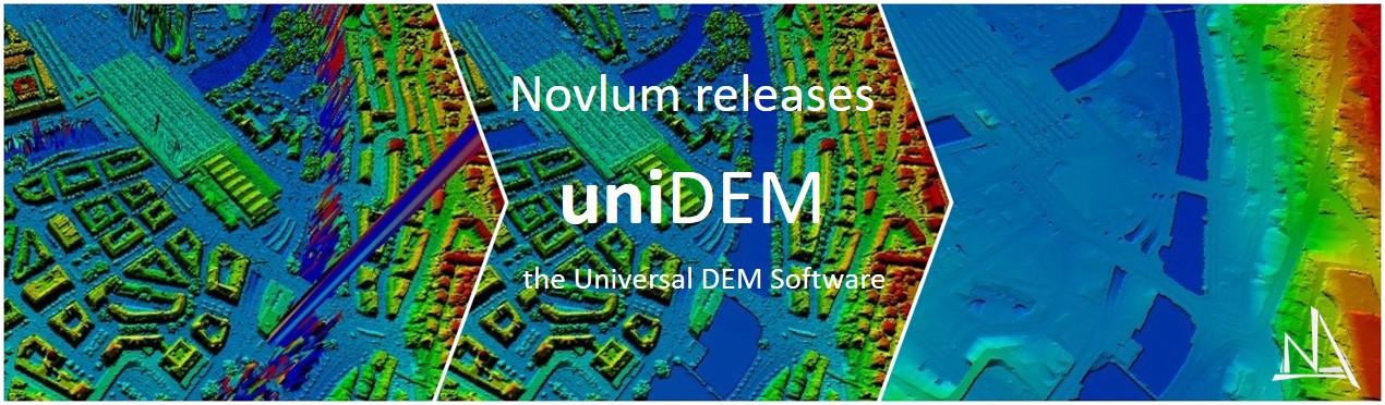 Novlum releases uniDEM - the Universal DEM Software