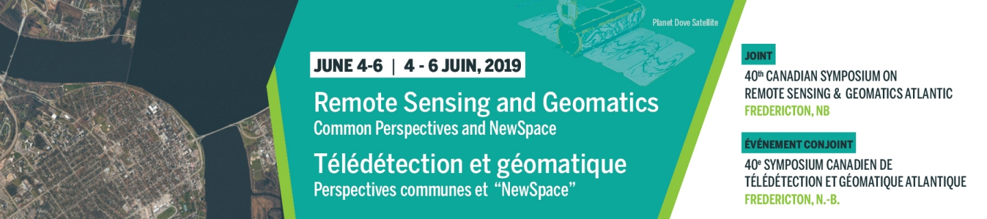 40th Canadian Symposium on Remote Sensing and Geomatics Atlantic 2019