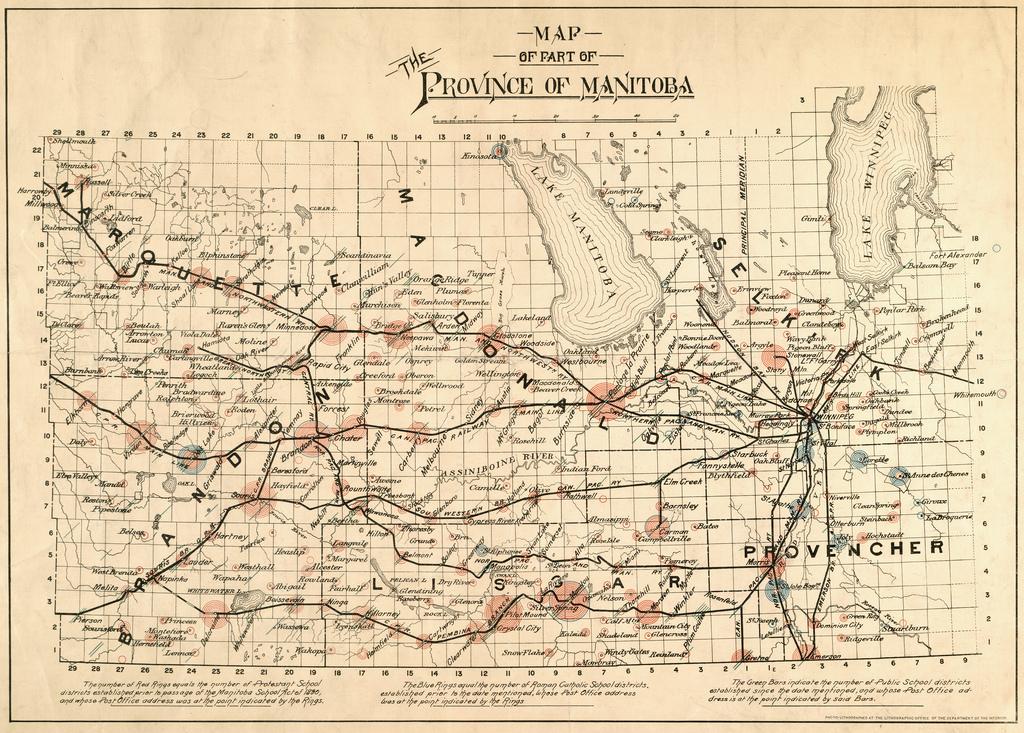 Historical Maps Of Manitoba - Map of manitoba