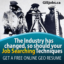 Find Canadian GIS jobs and add your geomatics resume for free