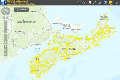 Nova Scotia Mi'kmaw Place Names Atlas