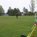 Working with a Leica Total Station