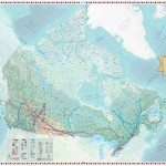 anadian Geographic Giant Floor Map – Canadian Energy – Production and Transmission