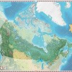 Canadian Geographic Giant Floor Map – Parks Canada – Places and Spaces for Everyone