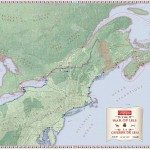 Canadian Geographic Giant Floor Map – The War of 1812