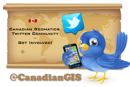 Canadian Geomatics Twitter Community