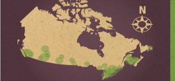 Canadian Open Data Map