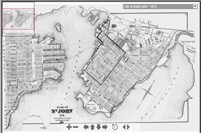 City of Saint John Maps, Plans and Historical Data
