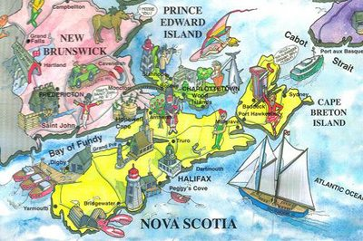 Creative Art/Map Competition for Nova Scotian Students