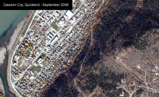 Canadian Open Data / Canadian GIS Data - Dawson City Quickbird 2006