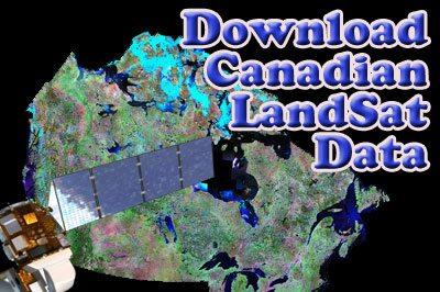 Download Canadian LandSat Images - Canadian GIS & Geomatics