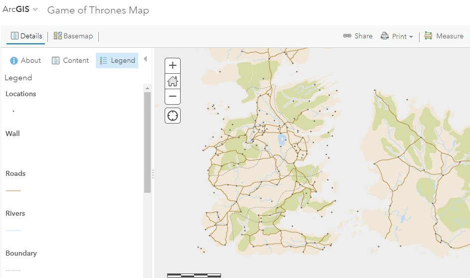 Esri and Game of Thrones