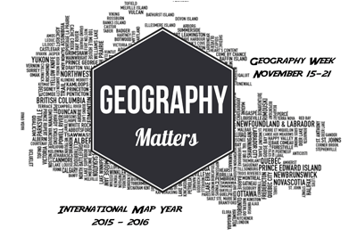 Explore The Power of Maps - Geography Awareness Week