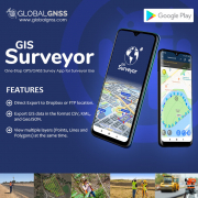 Global Gnss Launches Application to Help Gis Surveyors Worldwide