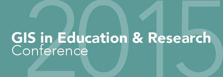 GIS in Education and Research Conference