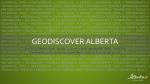 GeoDiscover Alberta