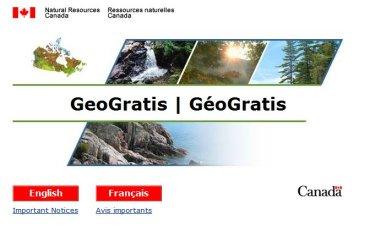 GeoGratis free Canadian geospatial data web portal