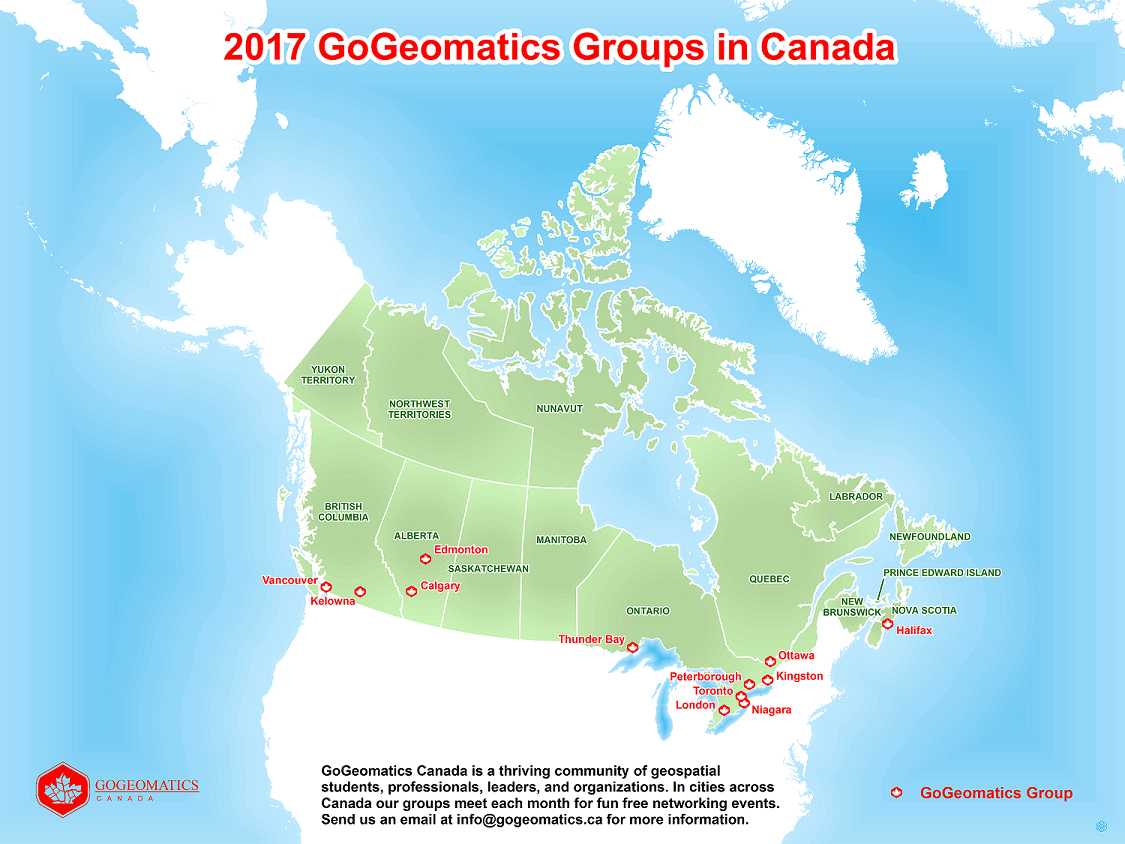 Gogeomatics Back to School Socials Map