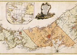 Historic Map of Prince Edward Island