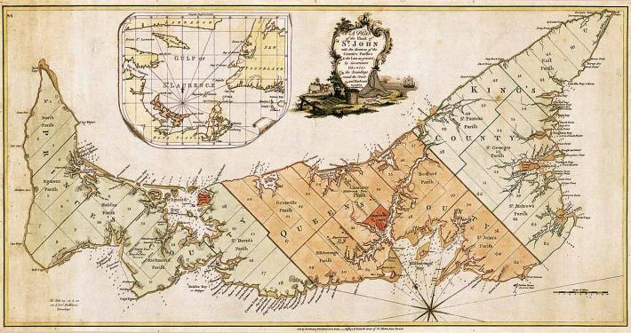 Historic Map of Prince Edward Island