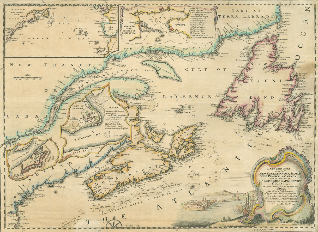 Historical Maps of Nova Scotia