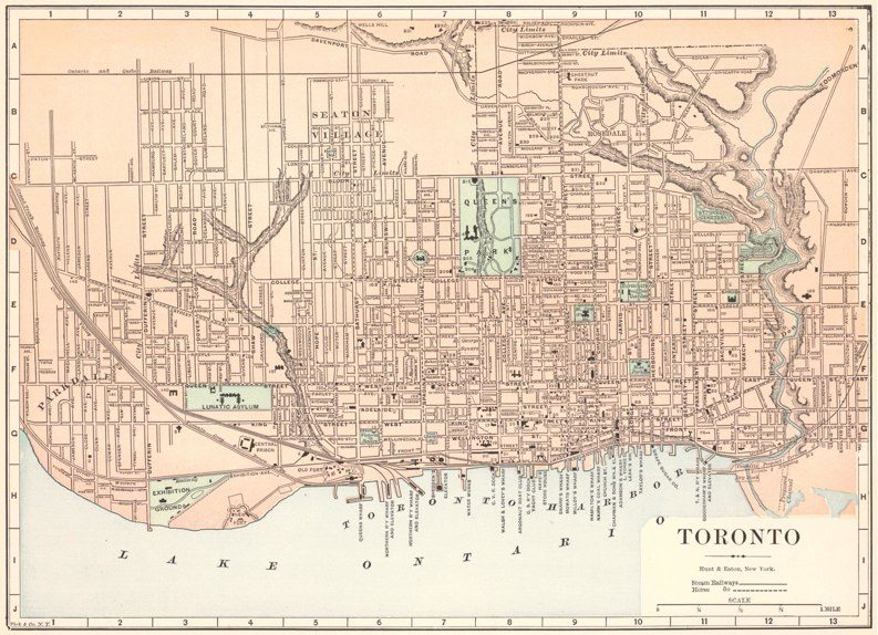 Historical Maps of Toronto