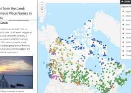 Stories from the Land Indigenous Place Names in Canada