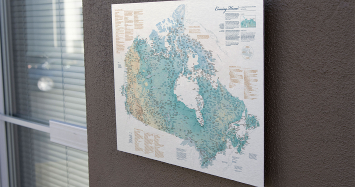Indigenous Place Names in Canada map
