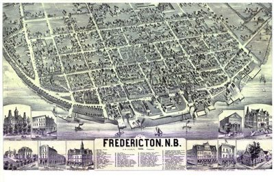 Interactive Historical Maps of Fredericton