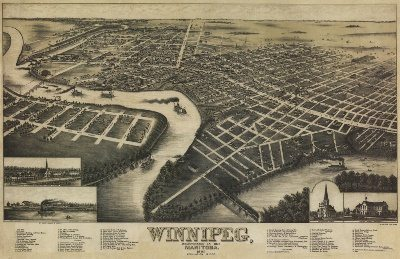 Manitoba Historical Maps