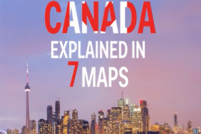 Maps that show How Important Canada is