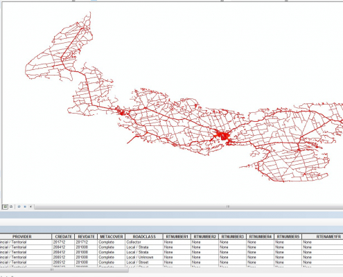 National Road Network (NRN) Data